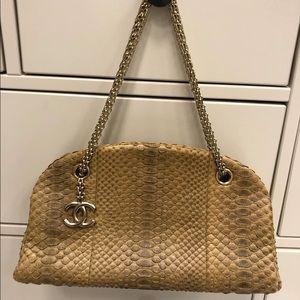 Chanel Mademoiselle Python Bag